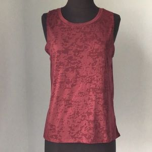 Forever 21 Maroon Burnout Tank